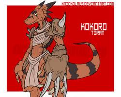 Desert Born Beast Warrior by The-Knick