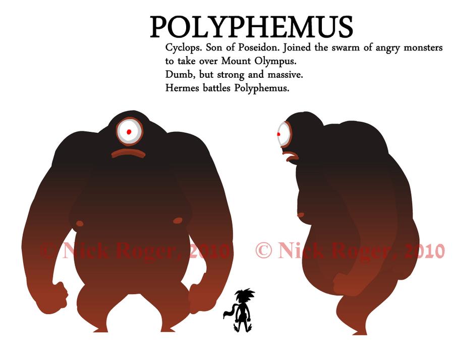 Polyphemus Turnaround Picture, Polyphemus Turnaround Image