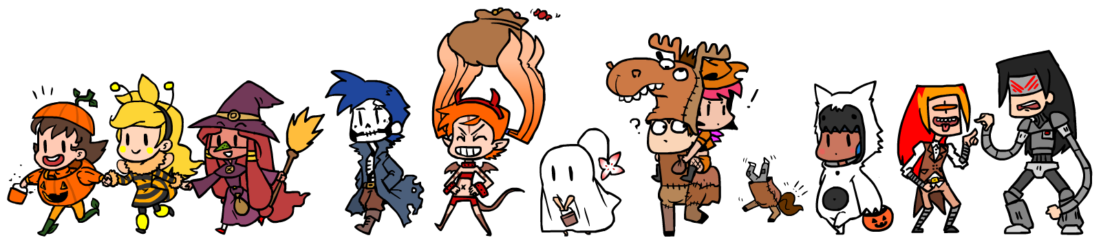 Trick Or Treaters by The-Knick