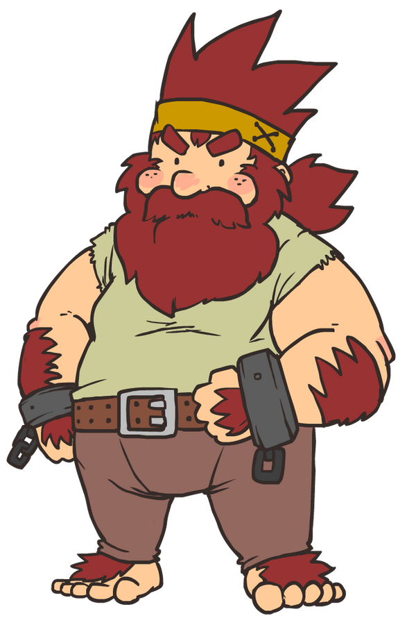 Dwarf Knick by The-Knick