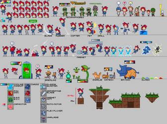 (Retrospect): Pixel Practice by The-Knick