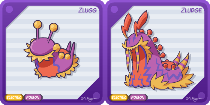 Fakemon: Toxic Shock by The-Knick