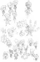 Doodle Dump Dec11/2013 by The-Knick