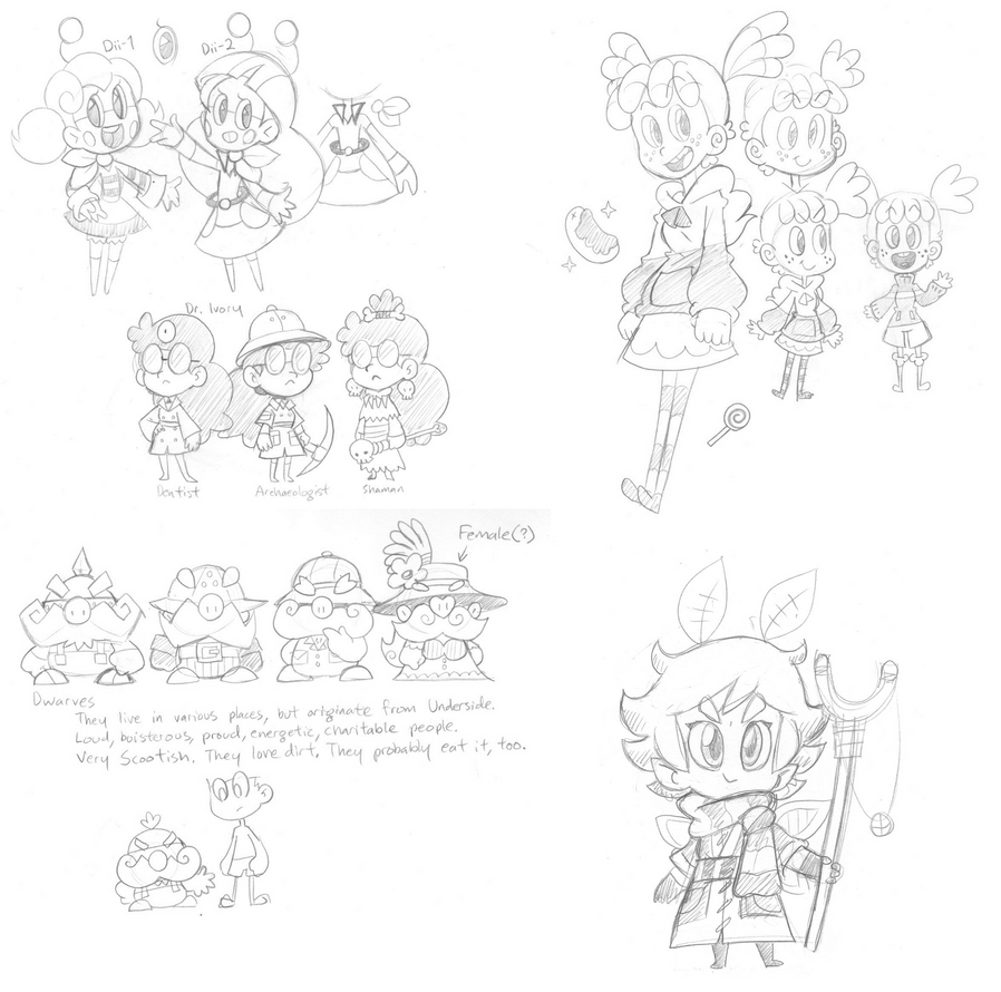 Doodledump, August 1st, 2014 (1/3) by The-Knick