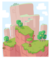Scenery Quickie: Mount Mighty by The-Knick