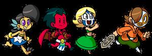 Commission: Macoatl Kids