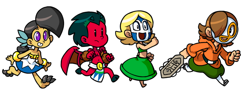 Commission: Macoatl Kids by The-Knick