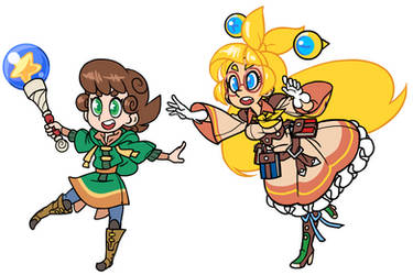 Dinx and Diji, Magical Adventurers
