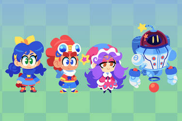 Wonder Wickets Characters by The-Knick