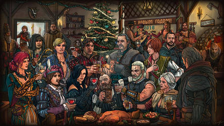 Witcher 3 New year 2016
