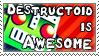 Destructoid - Stamp by Flamma-Man