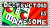 Destructoid - Stamp by Flamma-Man