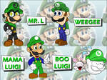 Luigi's Forms of Awesome