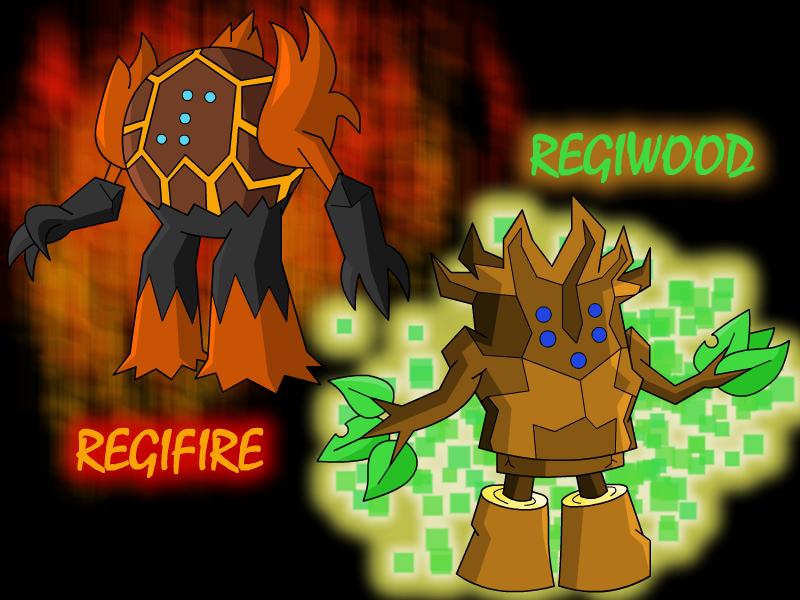 Regifire and Regiwood by UMSAuthorLava