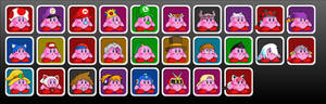 Smash Bros Wishlist of Kirbies