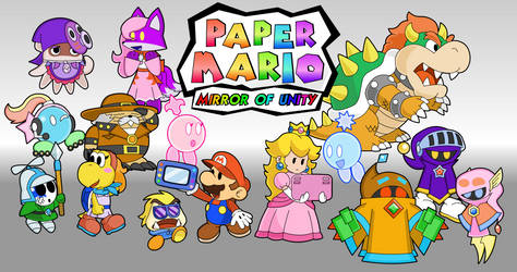 Paper Mario - Mirror of Unity by UMSAuthorLava