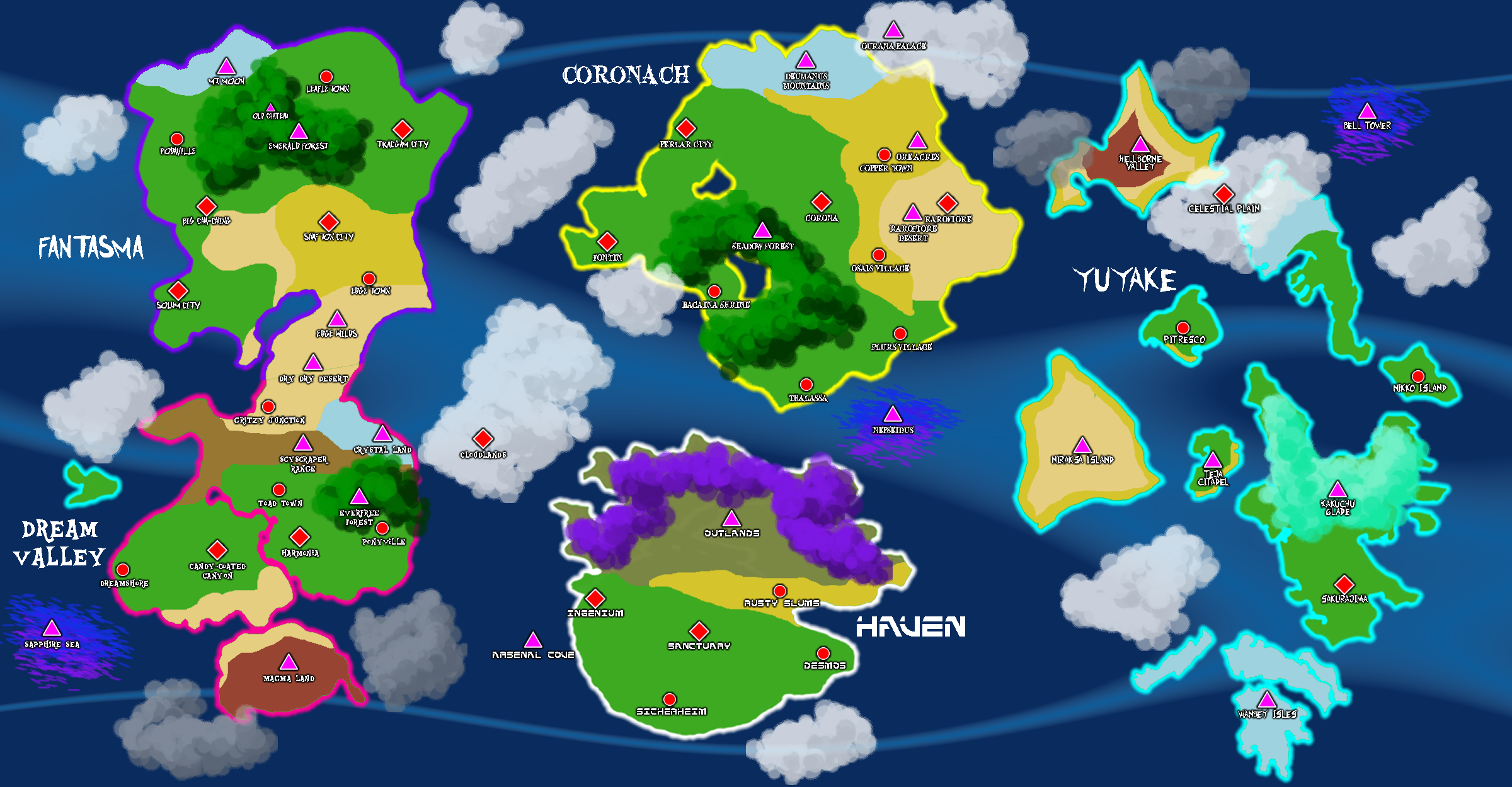 World map of fusion fantasy 2 by umsauthorlava on deviantart world map of fusion fantasy 2 by umsauthorlava gumiabroncs Gallery