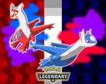 Pokemon 2018 - Latias and Latios