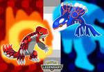 Pokemon 2018 - Kyogre and Groudon