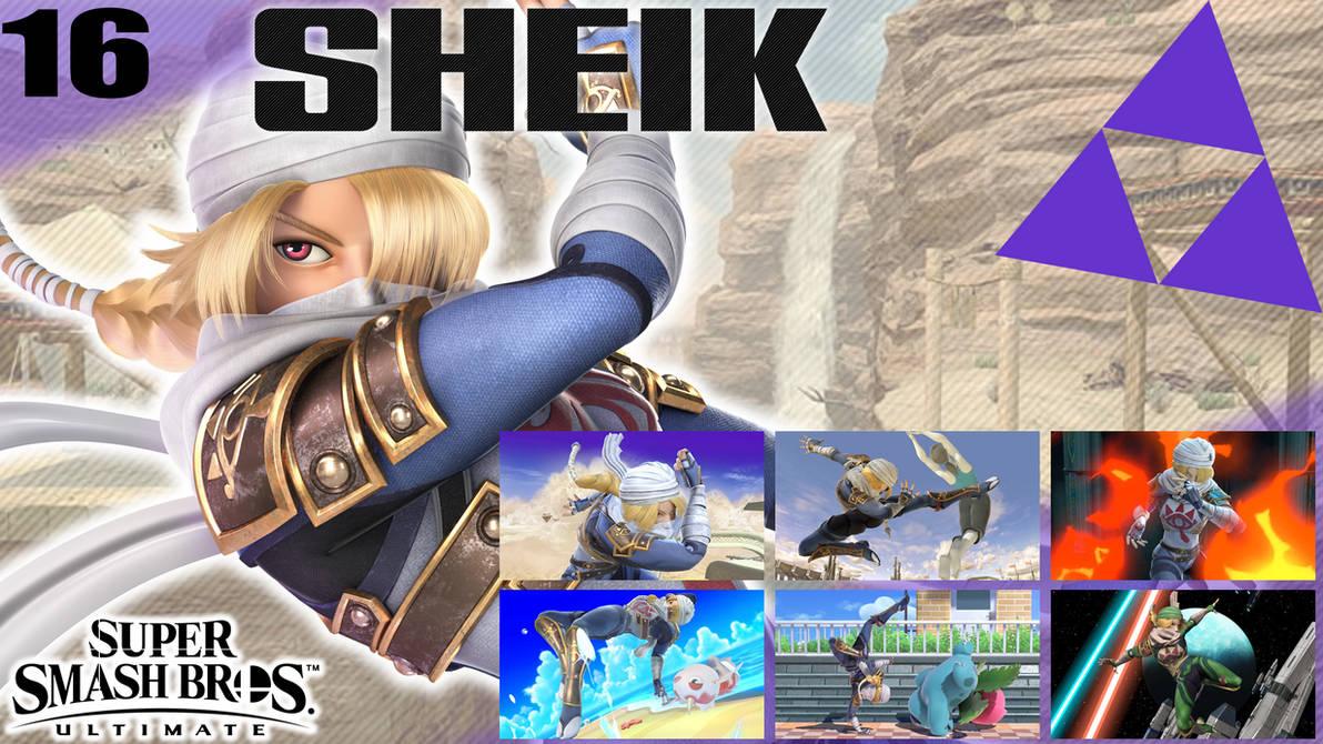 SSBU Wallpaper - 16 - Sheik by UMSAuthorLava ...