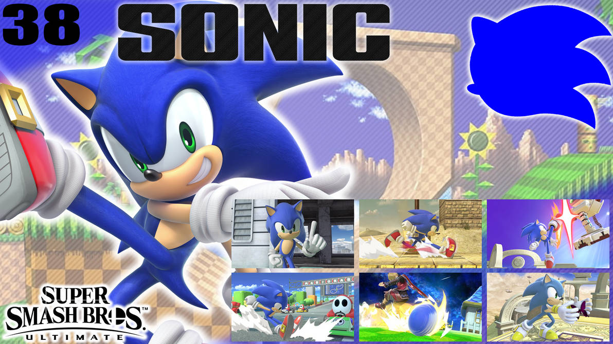 SSBU Wallpaper - 38 - Sonic by UMSAuthorLava ...