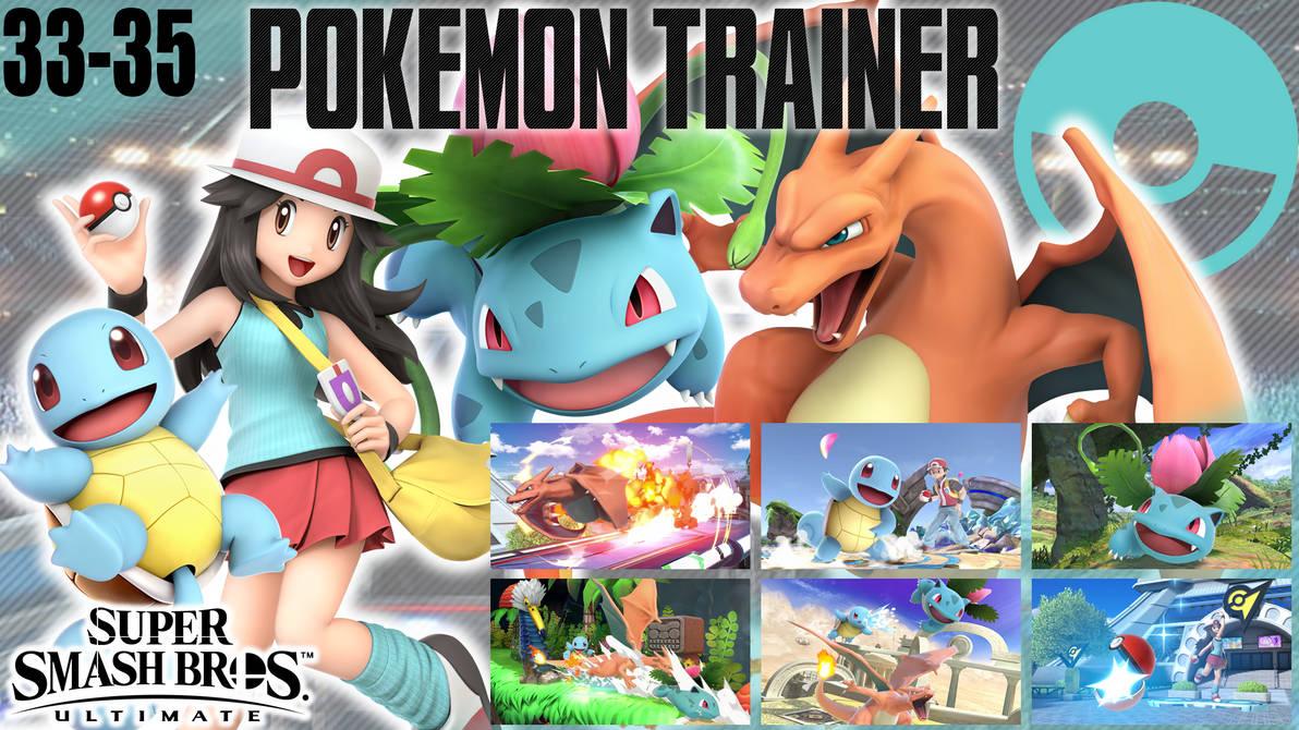 SSBU Wallpaper - 33-35 - Pokemon Trainer (Girl) by UMSAuthorLava ...