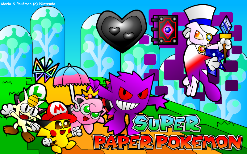 Super Paper Pokemon by UMSAuthorLava