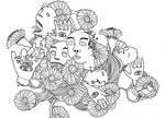 kepala abstrak