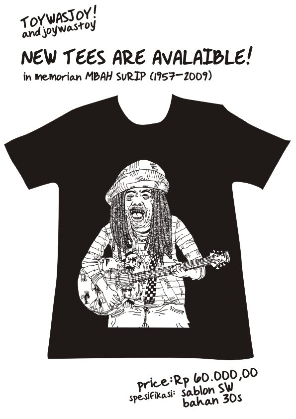MBAH SURIP TEES by titoyusuf