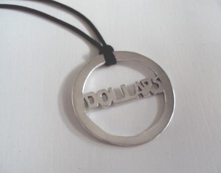 Dollars-pendant by YueChangShi
