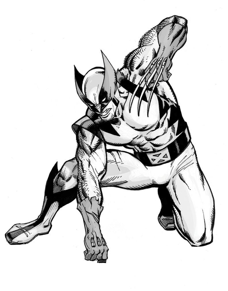 Wolverine sketch by artmonkey5000 on deviantart - Wolverine dessin ...