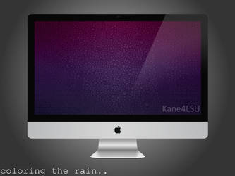 Coloring The Rain..By Kane4LSU by kane4lsu