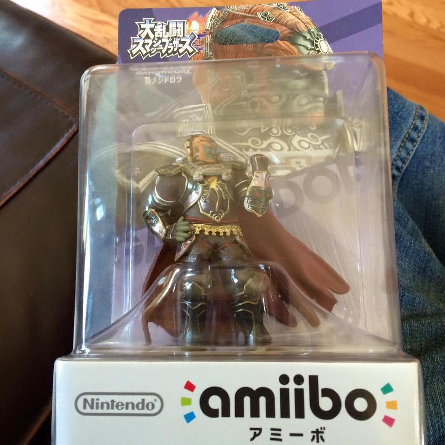 Ganondorf Amiibo by Goraiou
