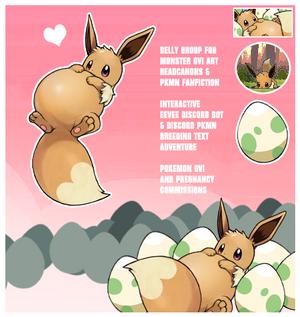 Pregnant Eevee Mascot