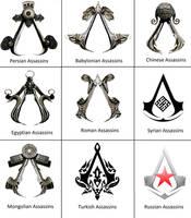 Assassins symbols by 575750