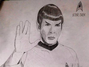 Art No. 1 - Mister Spock