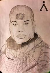 Art No. 3 - Teal'c of Chulak
