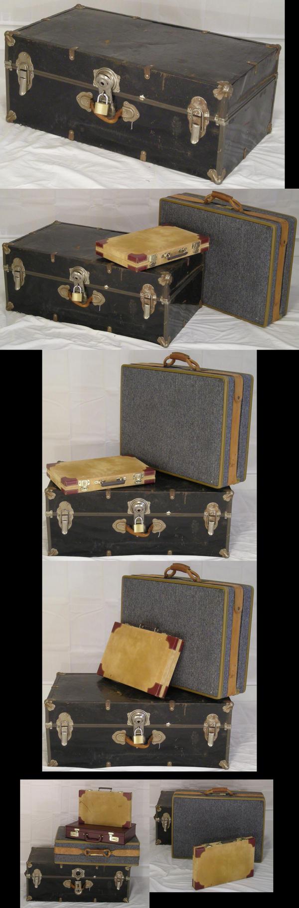 Luggage Pack 7 by TwilightAmazonStock