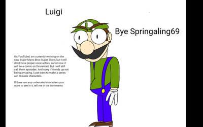 TNSMNSS: Luigi by Springaling69
