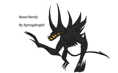 I Fixed Beast Bendy by Springaling69