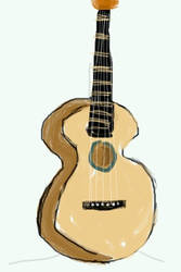 Guitar by Crop-O