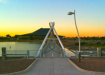 Footsie Bridge by Crop-O