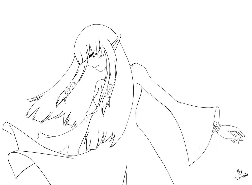 Line Art Zelda : Zelda skyward sword lineart by izumisensei on deviantart