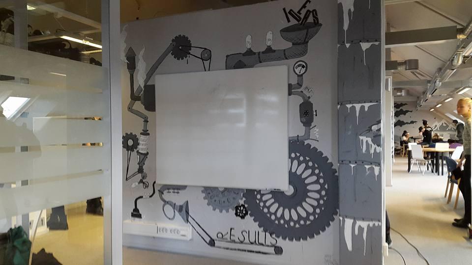 'Idea Machine'  Wall project (School) by CupNoodlesFreak