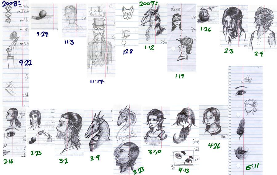 biblical sketches - photo #8