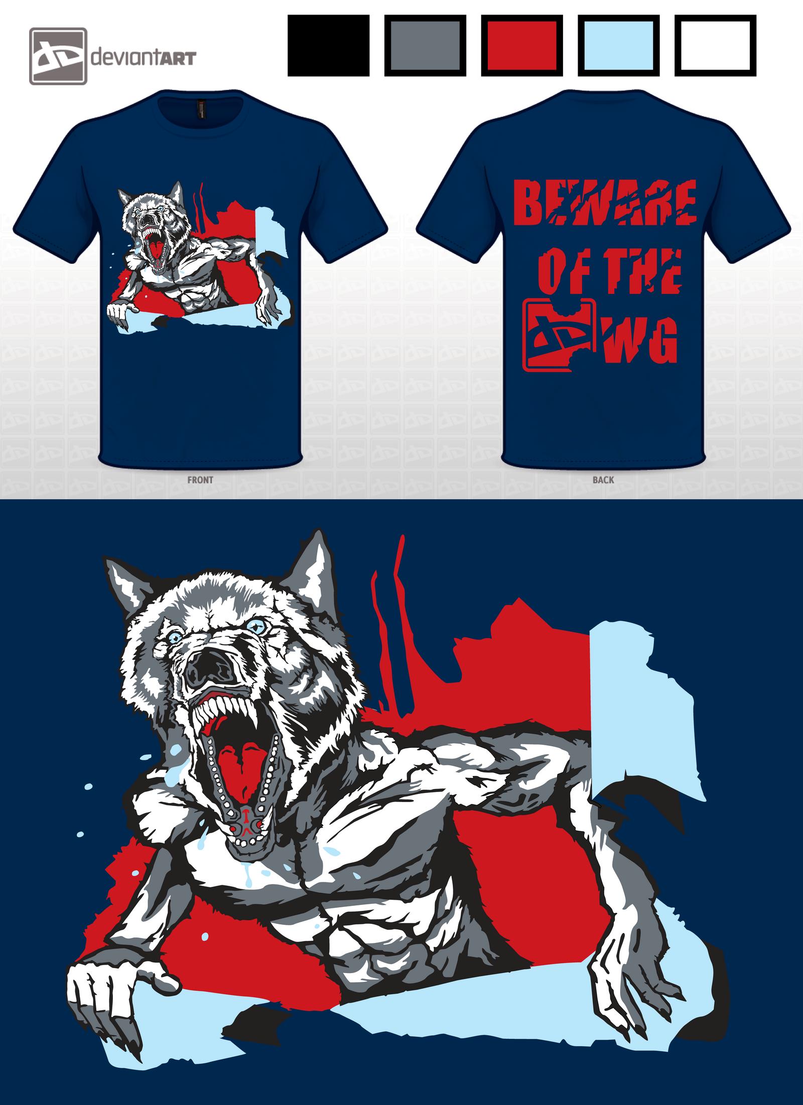 Beware Werewolf by tomographiser
