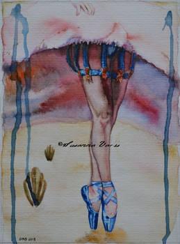 Burlesque Ballerina Legs (Dita series)