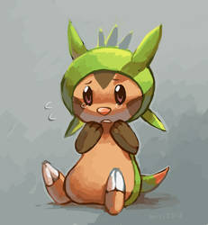Chespin by miri-kun