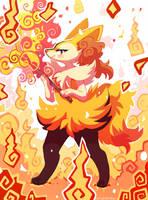 Braixen Fire
