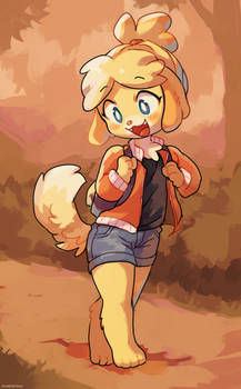 Isabelle Out n' About!!